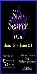 Star Search Hunt Poster - June