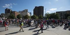Teachers march for justice for Philando Castile