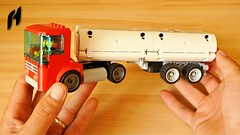 How to Build the Truck with Tanker Trailer (MOC)