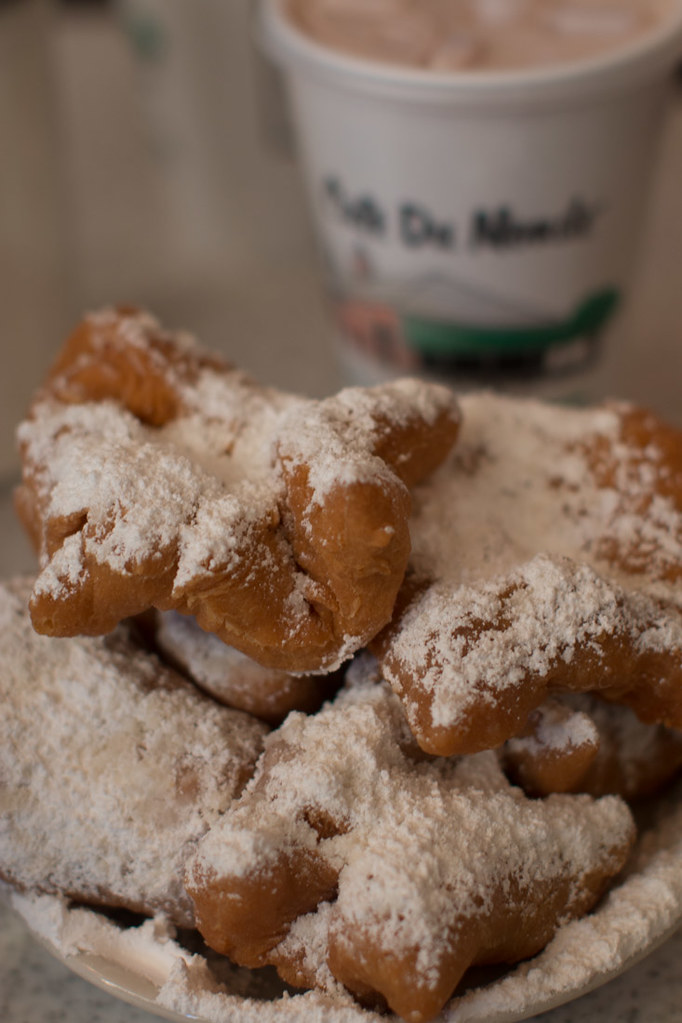Beignets from Cafe du Monde in New Orleanse