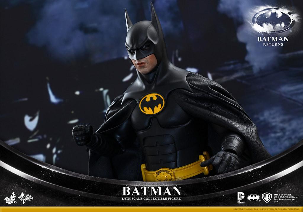 Hot Toys – MMS294 – 蝙蝠俠大顯神威【米高·基頓蝙蝠俠雙人組合包】1/6 比例 Batman & Bruce Wayne
