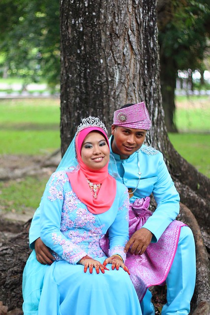 fitri & wife