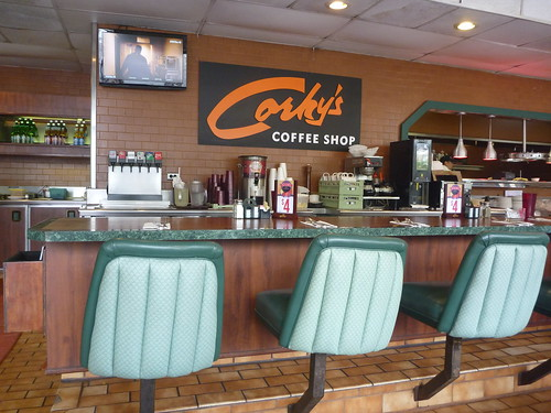 Corky's Coffee Shop - Keith Valcourt for Retro Roadmap