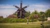 Windmill in Tulcea, Romania