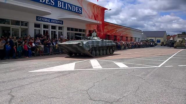 BMP-1 at Saumur 2015 2