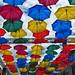 Umbrella Sky Project in Saint Petersburg, Russia by Svetlana Serdiukova