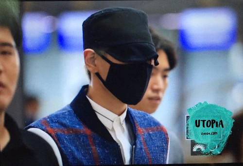 Big Bang - Incheon Airport - 25aug2015 - Utopia - 01