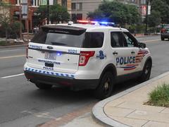 DC Police On Scene