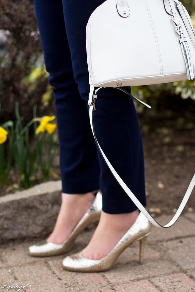 paisley blazer, navy pants, silver pumps-1.jpg