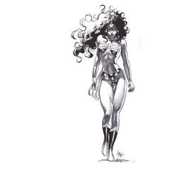 #WonderWoman by Mike Deodato, Jr.  #Comics