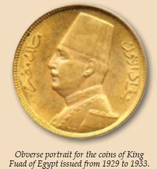 Metcalfe King Fuad coin