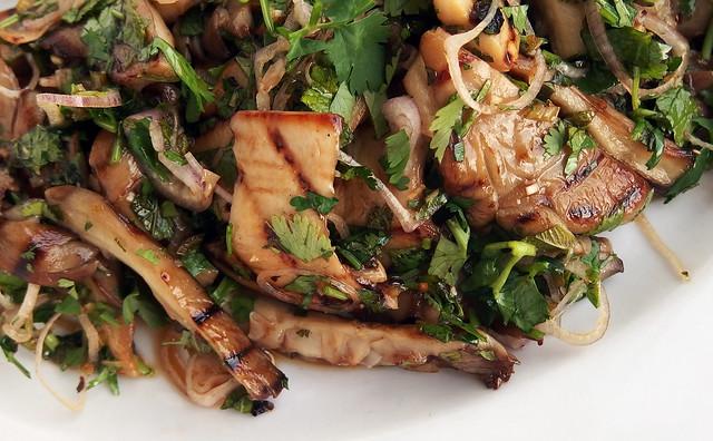 Thaise paddenstoelen salade