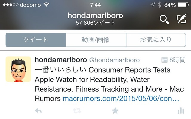 Twitter tweet Activity