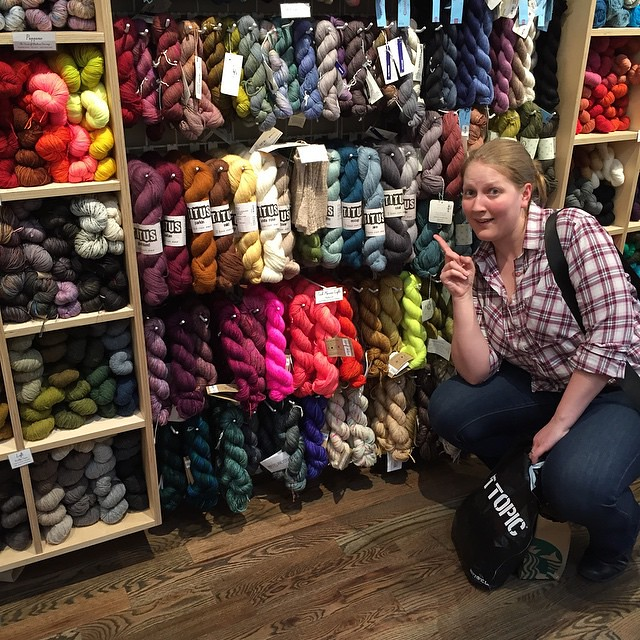 I've come all the way from Yorkshire to pose with yarn... From Yorkshire @baarameweknits @fancytigercrafts