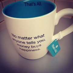 Best mug ever. #truth #life #infertility #moneydoesbuyhappiness
