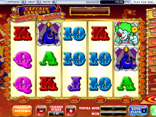 Captains Cannons Circus of Cash Slot Machine Online ᐈ Playtech™ Casino Slots