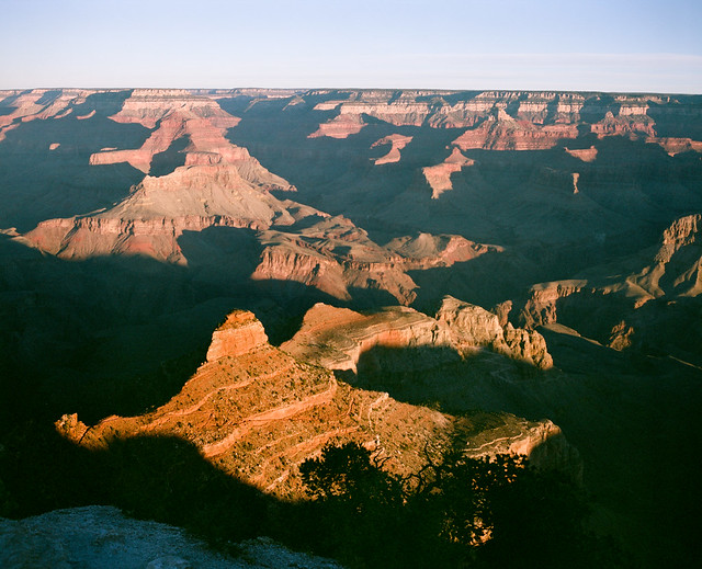 大峽谷的日出
