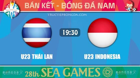 U23 Thái Lan vs U23 Indonesia