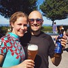My favourite isotonic drink: #erdinger :smiley::wink: #uetliberg #mountainbiking by @pgart
