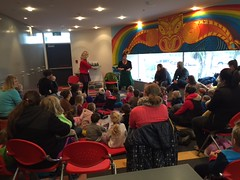 Kitty Brown Reo Pepi Storytime, New Brighton Library