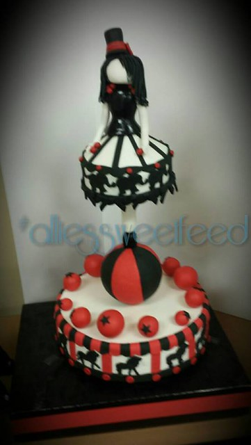 Zoetrope Cake by Allison Simcoe
