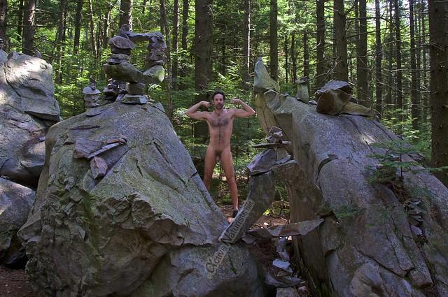 naturist 0014 Appalachian trail, Vermont, USA