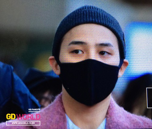 Big Bang - Incheon Airport - 22mar2015 - G-Dragon - GD World - 02