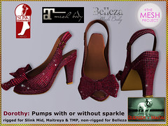 Bliensen - Dorothy - Pumps with or without Sparkles