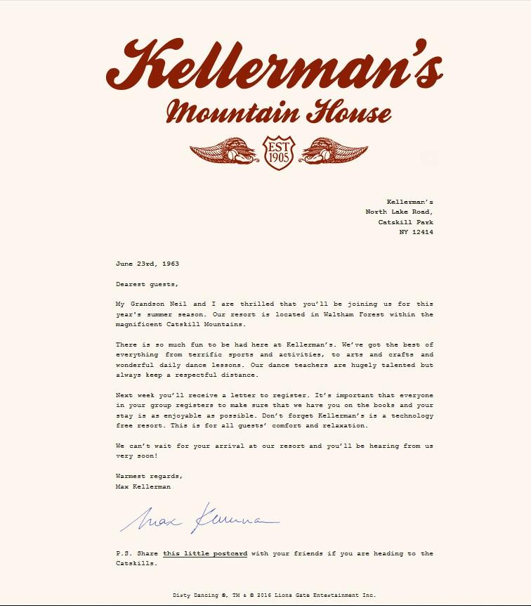 Kellerman's Letter