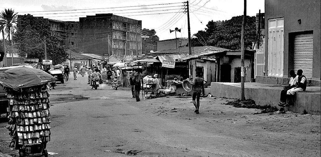 Street Scene, Kaduna, Nigeria.
