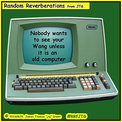 Nobody wants to see your Wang unless it is an old computer. #jtg . #RRfJTG #comic #computer #wang #pènis