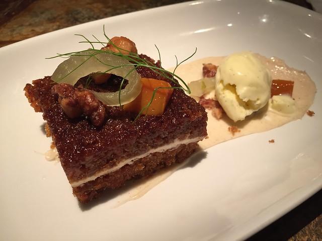 Carrot cake - Farallon