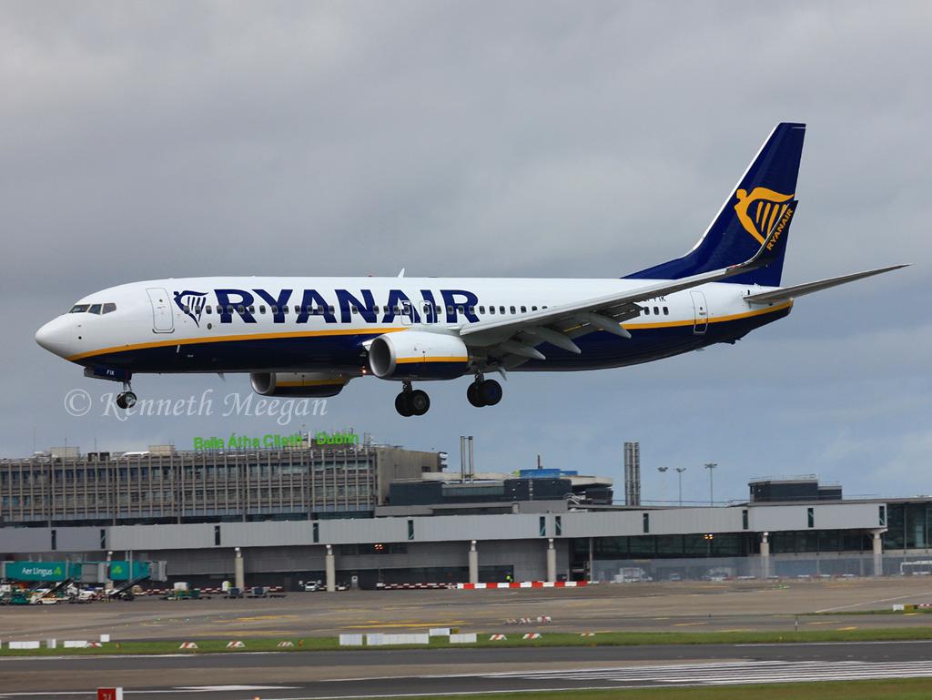 EI-FIK - B738 - Ryanair