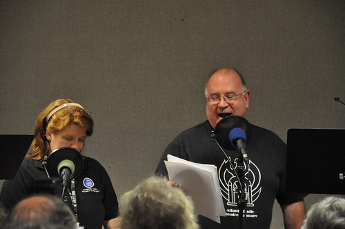 Clair W. Kiernan and Ron N. Butler at the microphones.