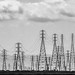 Towers and Wires - Man made landscape by Hot Flash Photography