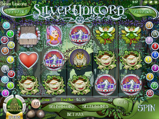 Silver Unicorn slot game online review