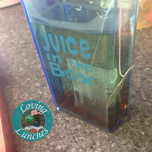 Loving a little inspiration for tomorrow's #schoollunch … can you guess? With our @boardwalkimports #JuiceInTheBox #JIB