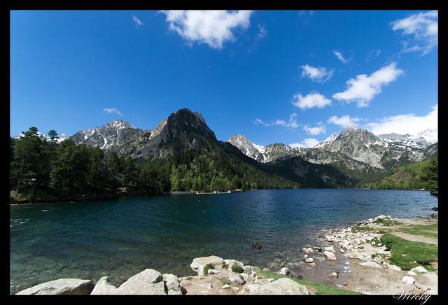 Fotografías del Lago de San Mauricio en Pirineos