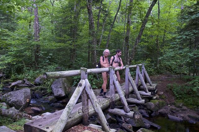 naturist 0015 Appalachian trail, Vermont, USA