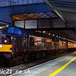 37668 & 37669 call at Preston