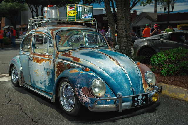 1966 Volkswagen Beetle (2016 Hot Nights Cool Rides, Forest City, North Carolina)
