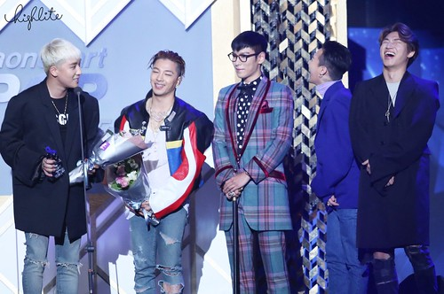Big Bang - The 5th Gaon Char K-Pop Awards - 17feb2016 - High Lite - 22