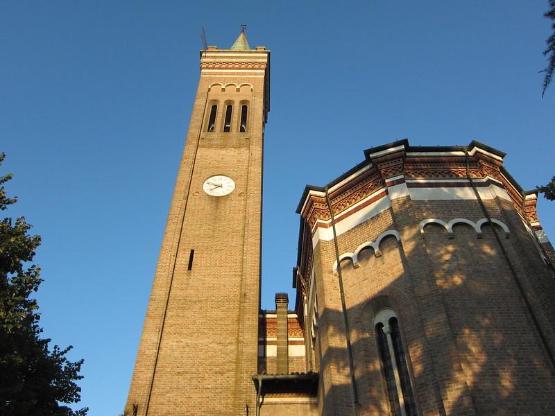 Coucher de soleil sur #Medesano - campagne parmesane - Italie