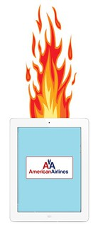 American Airlines iPad Crash