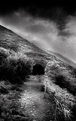 Abandoned, Drung Hill Tunnel No3, Co Kerry, Ireland.