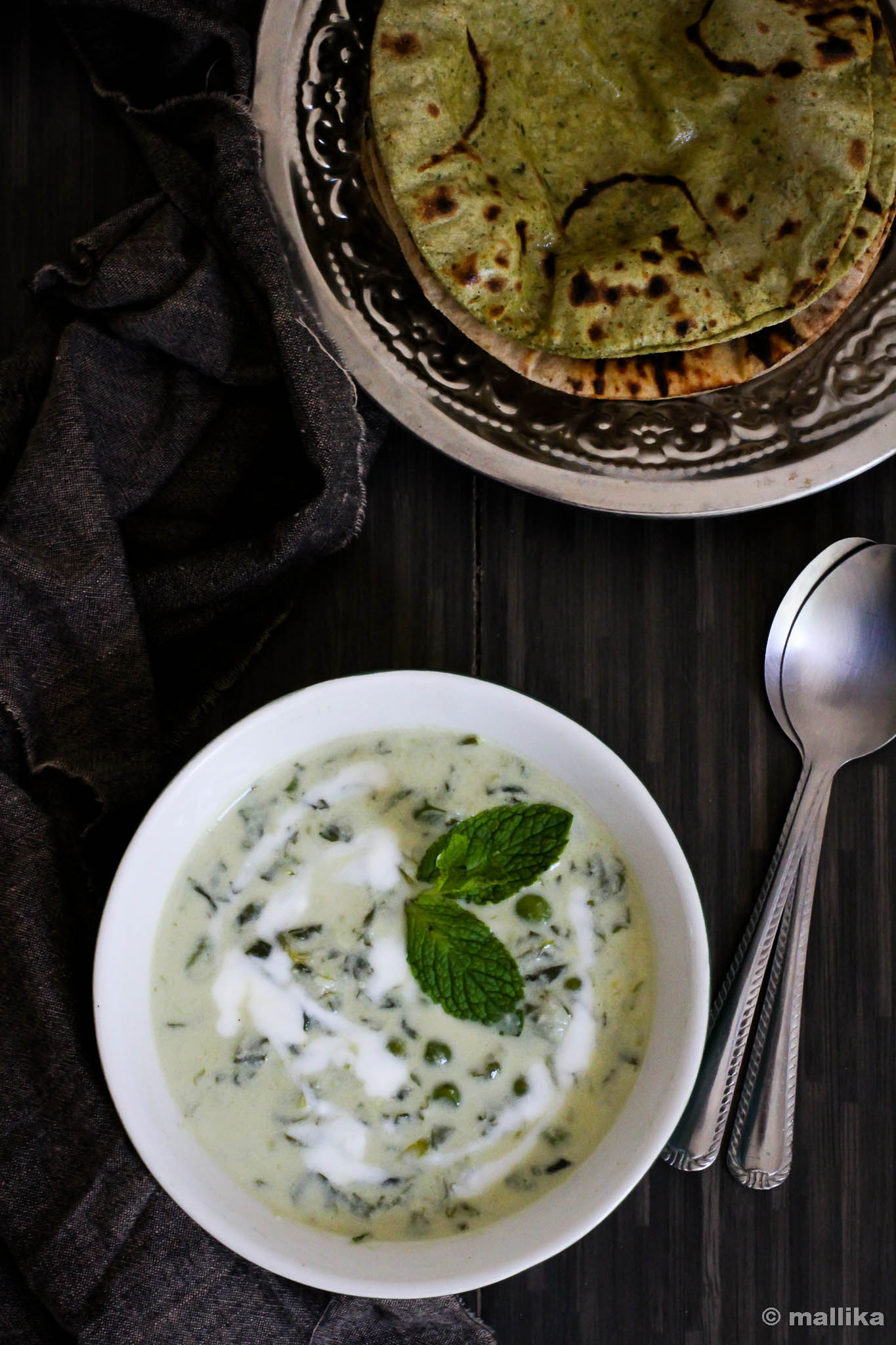 Methi Mutter Malai Recipe