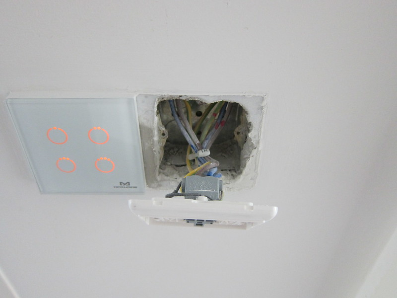 HDB Default Water Heater Switch Wiring