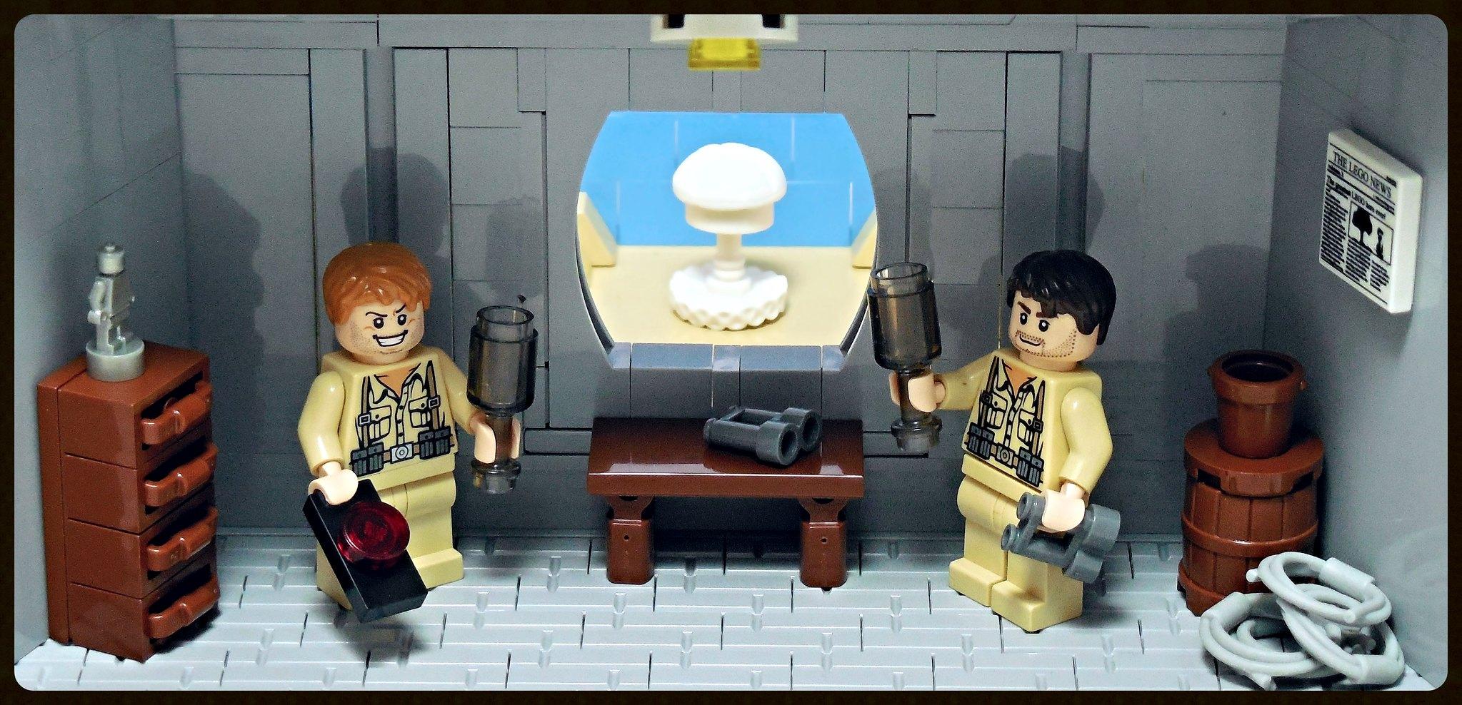 LEGO® MOC by Vitreolum: Nuclear Test