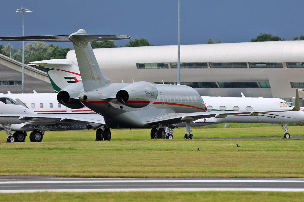 9H-VJW - GL6T - VistaJet