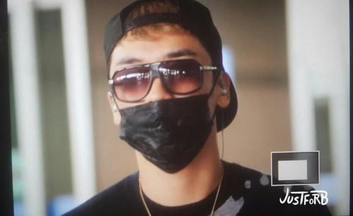 BIGBANG arrival ICN Seoul from Taiwan 2015-09-28 (4)